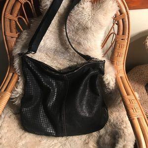 Handbags - Campomaggi black leather hobo